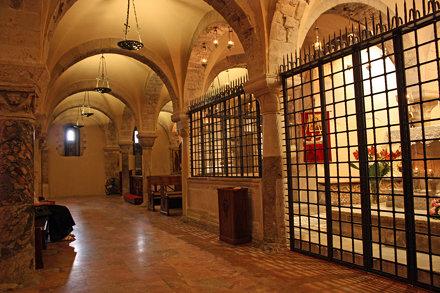 Saint Nicolas (Santaclaus) tomb in Bari