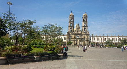 The Bacilica in Zapopan. 1730. It is a destination for pilgrims. Very ornate!