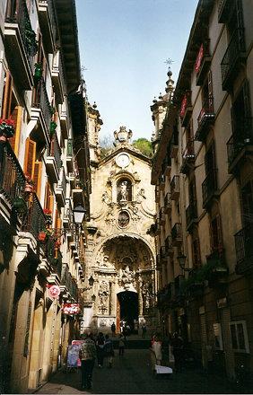 Basílica de Santa María, Donostia