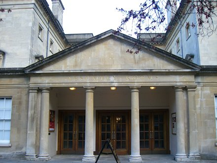 Assembly rooms entrance