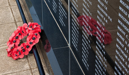 England - Kent - Capel le Ferne - Battle Of Britain Memorial Wall - 7th May 2011 -17