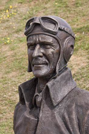 England - Kent - Capel le Ferne - Battle Of Britain Memorial - Air Chief Marshal Sir Keith Park Memo