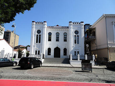 Batumi (the regional capital of Adjara A.R.)