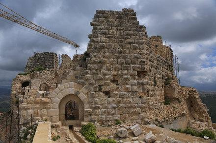 La reconstruction du château de Beaufort