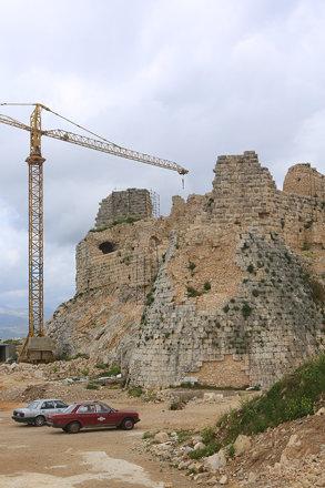 Vue générale du château de Beaufort