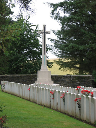 A small war grave