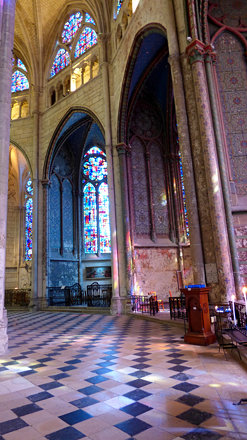 Beauvais - Cathedral of St Peter, apsidal chapel