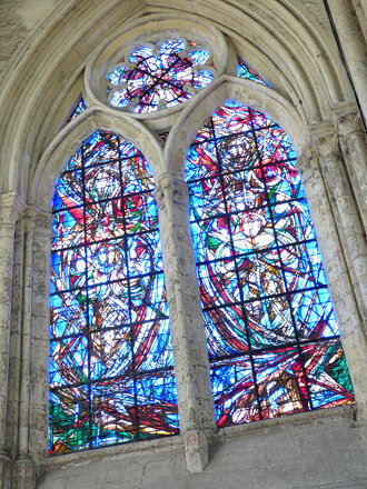 Beauvais - Cathedral of St Peter, chapel of St Angadreme (4)