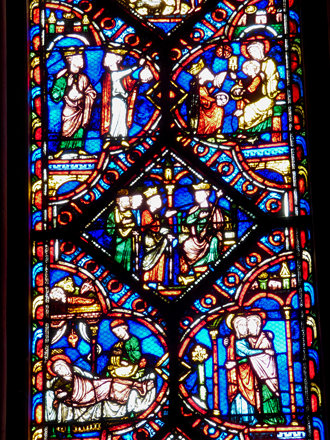 Beauvais - Cathedral of St Peter, chapel of Notre Dame, wise men and herod
