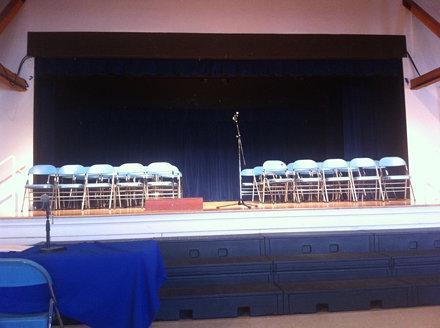 큰아이 학교에 단어맞추기 대회인 Spelling Bee에 왔습니다.  최선만 다해주면 좋겠습니다!
