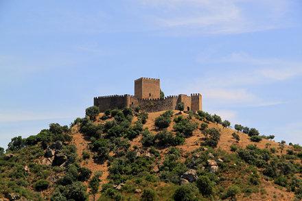 Gavião, castelo de Belver