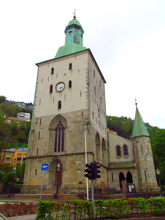 Domkirken, The Cathedral, Bergen, Norway
