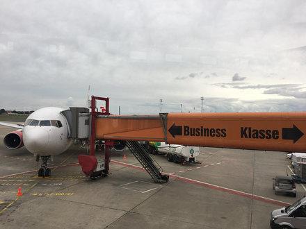 Landed in Berlin!