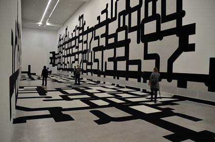 Berlinische Galerie, Berlin. Exhibition 'Experimentelle Raumstrukturen' by J. Mayer H. 201