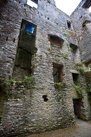 Berry Pomeroy Castle.