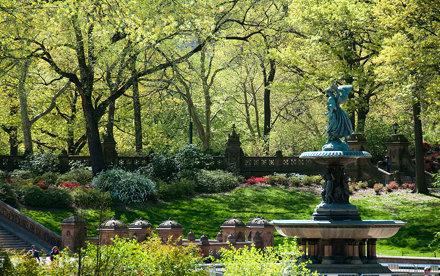 Spring in Central Park: Bethesda Terrace