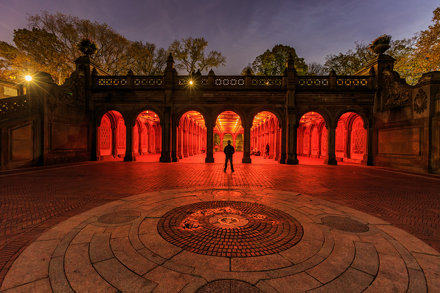 Photographing Bethesda Terrace