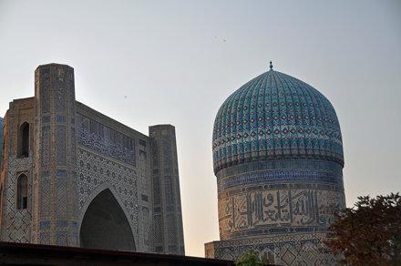 Samarcanda - Mezquita Bibi-Janym