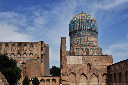 Bibi-Khanym masjid, Samarkand