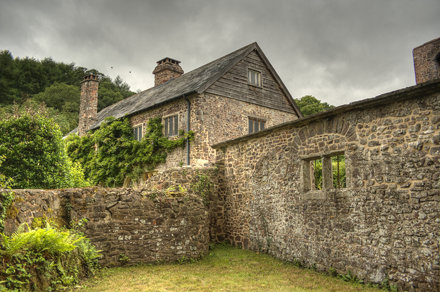 Bickleigh Castle HDR