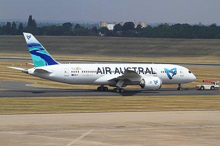F-OLRC B787-8 Air Austral BHX 14-07-18