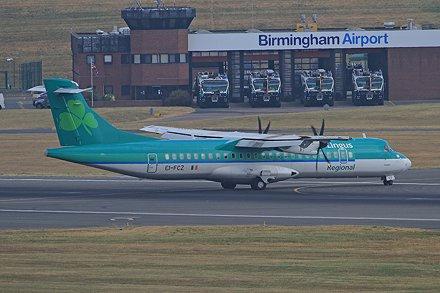 EI-FCZ ATR72-600 Aer Lingus BHX 14-07-18