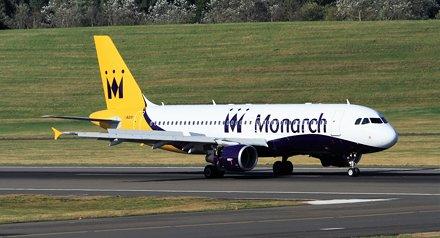 G-ZBAT A320 Monarch BHX 30-08-16