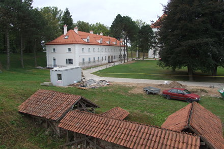 Within Biržai Castle Complex, 10.08.2013.