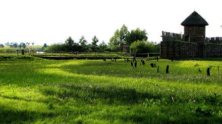 Biskupin settlement