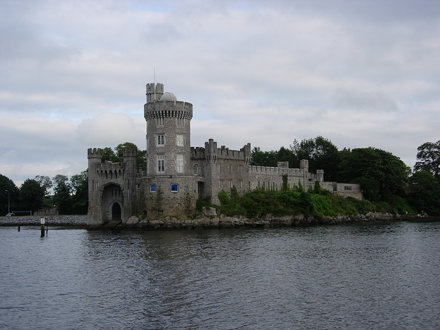 Blackrock Castle Observatory from across the river