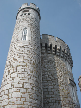 Blackrock Castle Observatory's towers