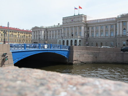Blue Bridge (Saint Petersburg)