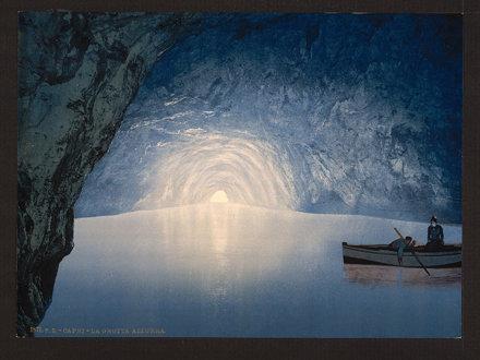 Blue grotto, Capri Island, Italy-LCCN2001700774