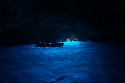 Blue grotto, Island of Capri