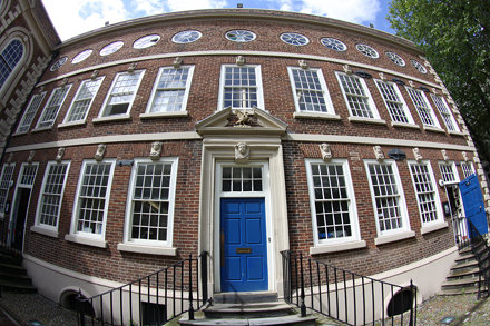 Bluecoat Chambers - Fisheye