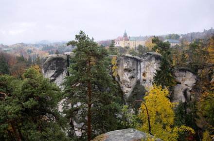 Český Ráj, zamek Hrubá Skála