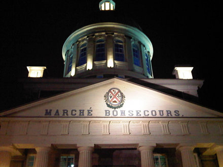 Marché Bonsecours Market , Montreal