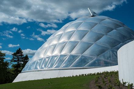 Botanical garden in Aarhus