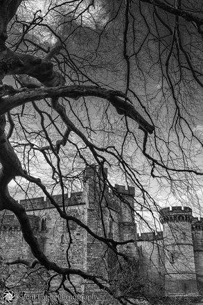 Brancepeth Castle (B&W)