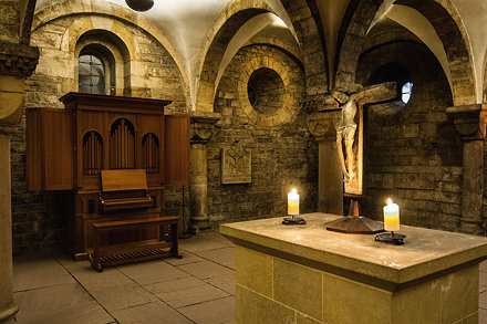 Crypt -  Bremen Cathedral