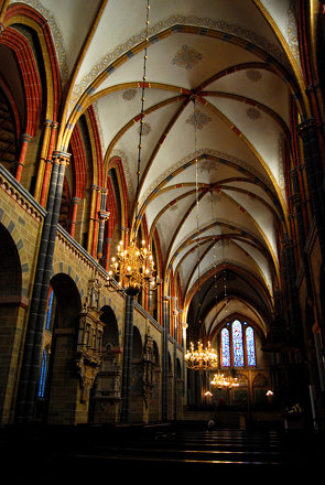 Inside Dom St. Petri