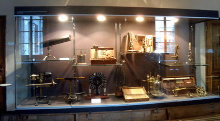 Old scientific instruments