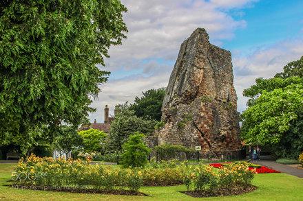 The Ruins Of Bridgnorth Castle