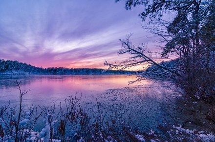 Winter Wonder…pond?