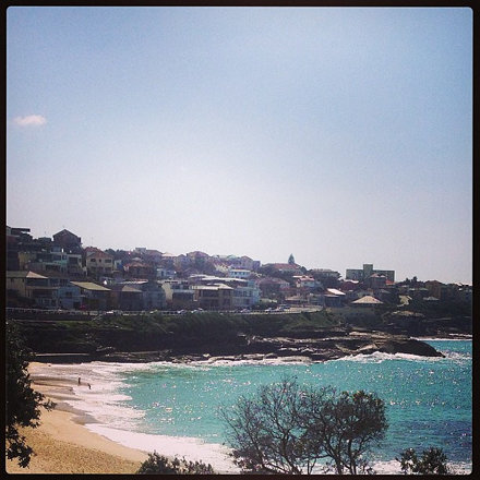 Brekky at my local beach to start my day, on my day off...