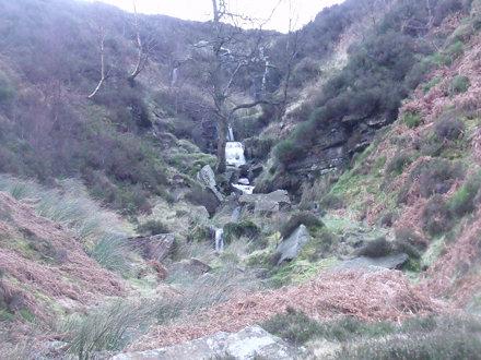 Bronte Falls, 22nd January, 2012