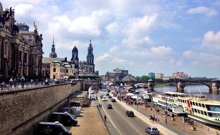 The View from the Brühl's Terrace