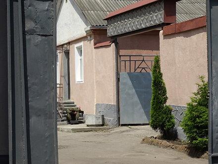 View into Courtyard of Brygidki Prison - Where Jews Were Murdered in Prison Aktion - Lviv - Ukraine