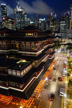 T52/36 Buddha Tooth Relic Temple,Sinagpore