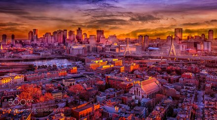 Boston Sunset...